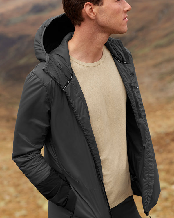 ON | Insulator Jacket in Shadow/Black