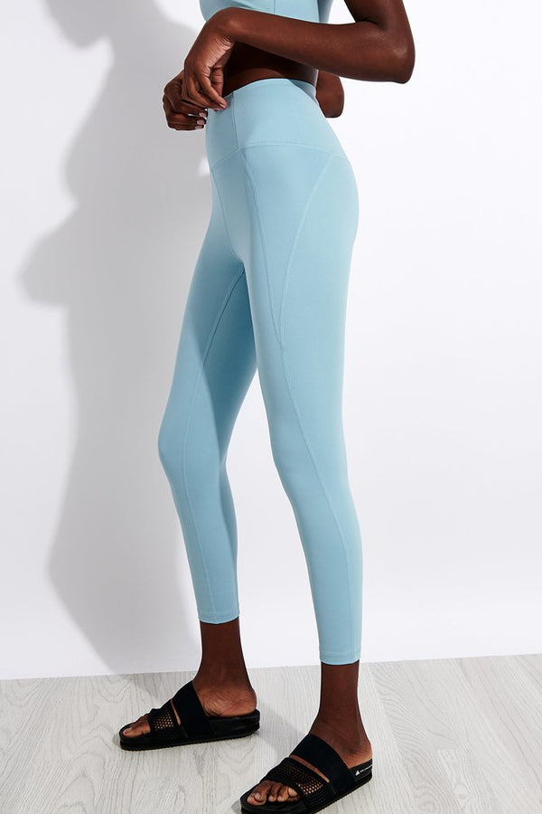 Girlfriend Collective Compressive High-Rise Legging in Sky