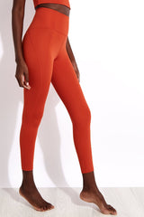 Girlfriend Collective Compressive High-Rise Legging in Tart