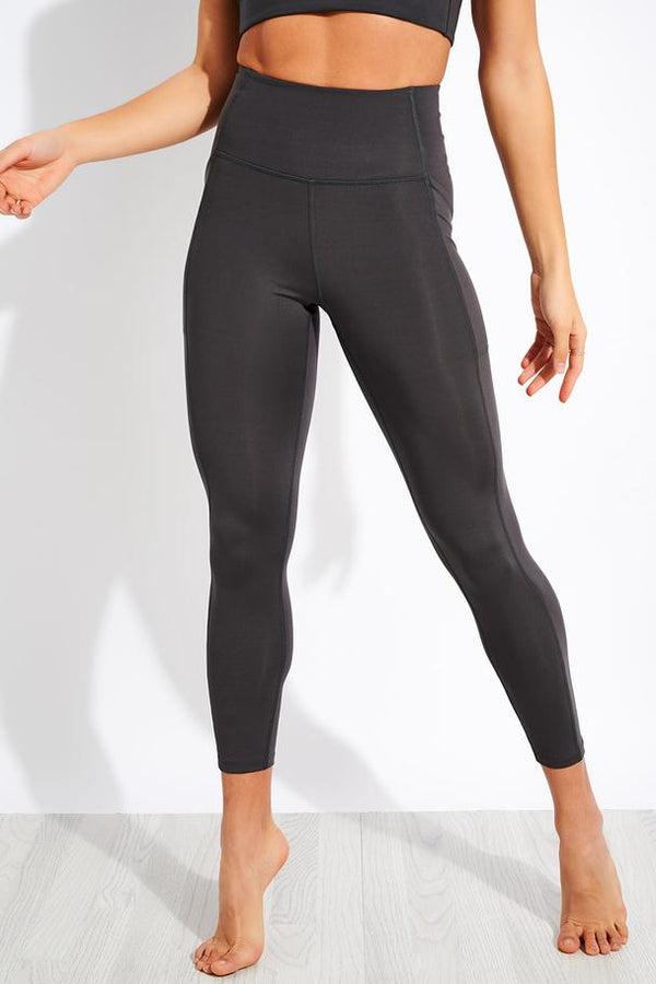 Girlfriend Collective Compressive High Rise Pocket Legging in Moon
