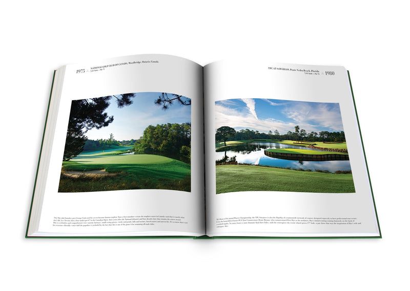ASSOULINE Golf: The Impossible Collection Hardcover Book By George Peper