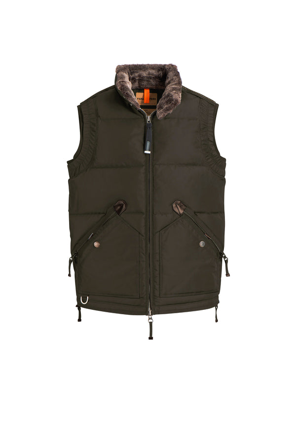 Parajumpers Men's Kobuk Vest in Bush