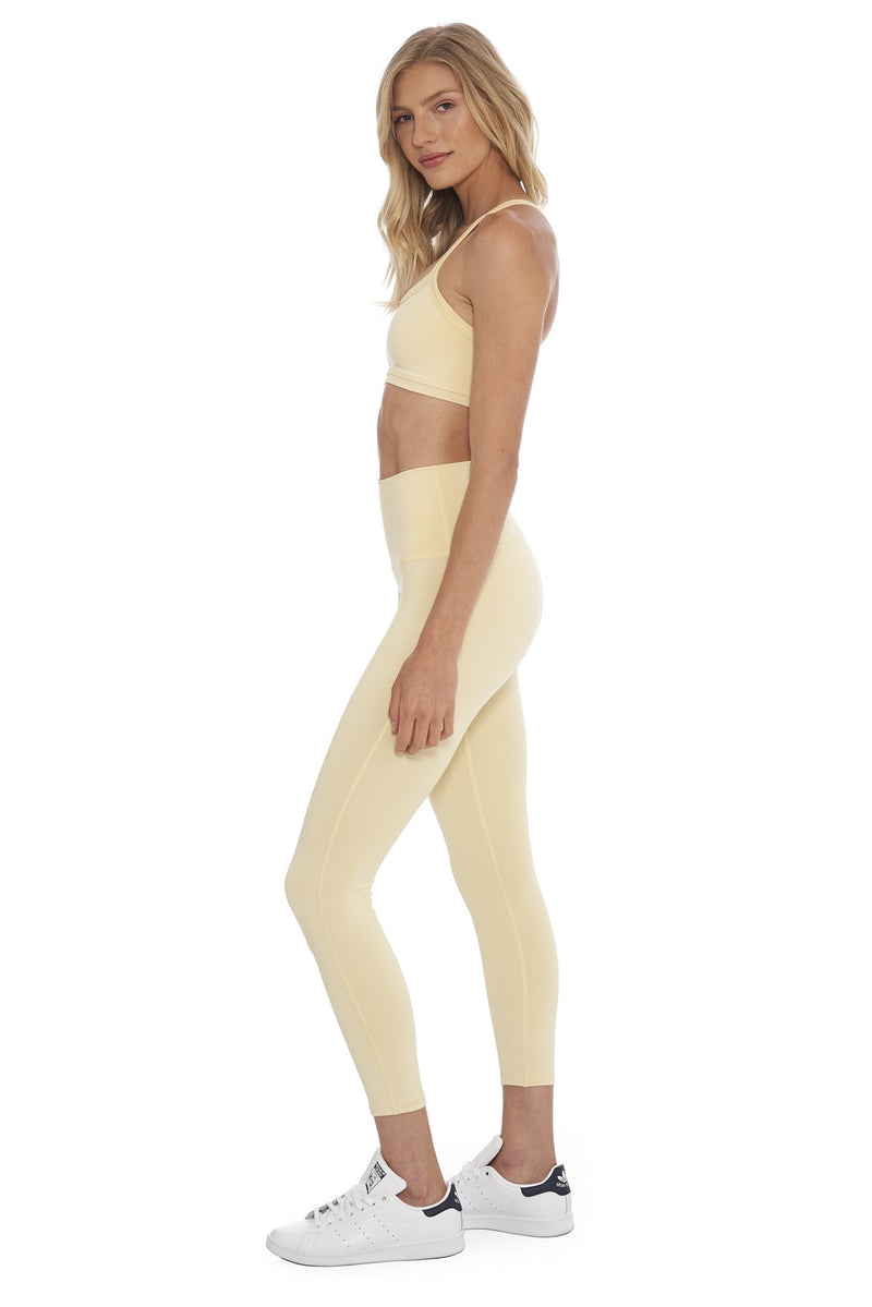 Morgan Stewart Sport Legging in Buttercream