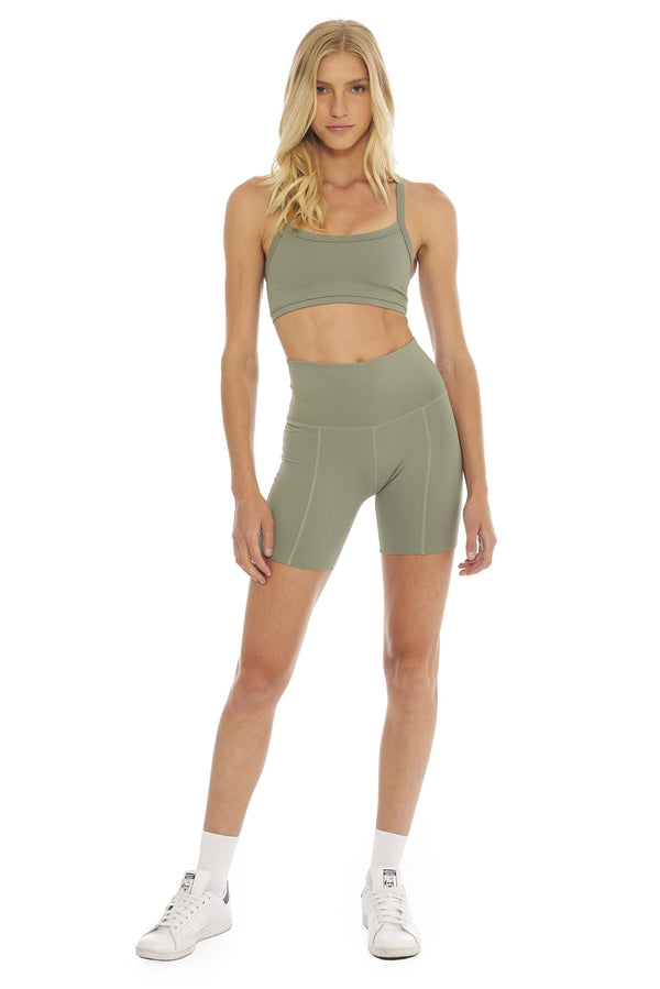 Morgan Stewart Sport Biker Short in Cypress
