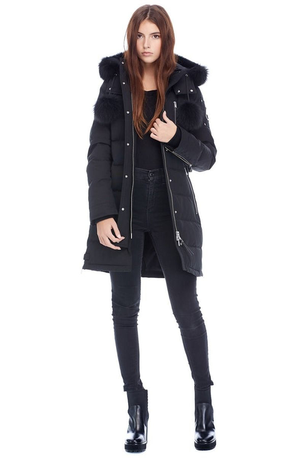 Moose Knuckles Ladies Paddockwood Parka in Black