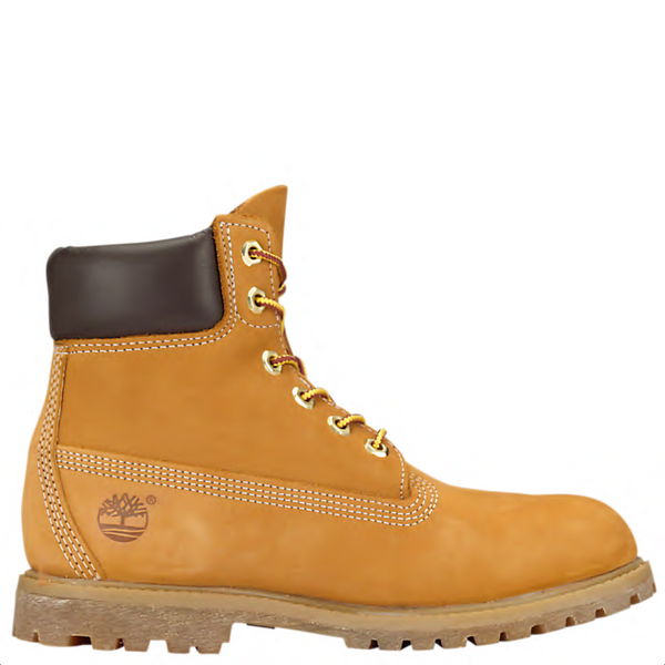 Timberland Women's 6-inch Premium Waterproof Boots in Wheat Nubuck
