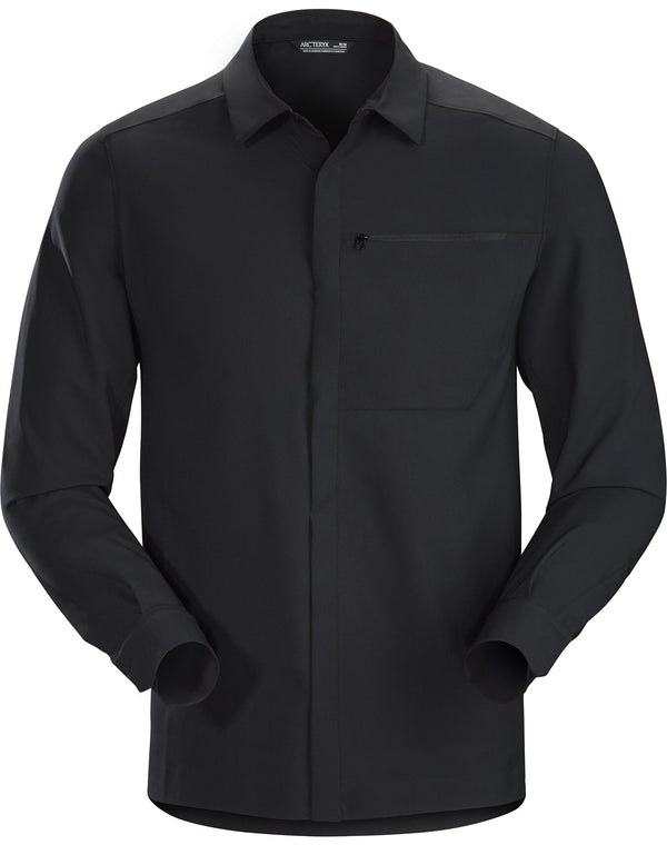 Arc'teryx Men's Skyline LS Shirt in Black