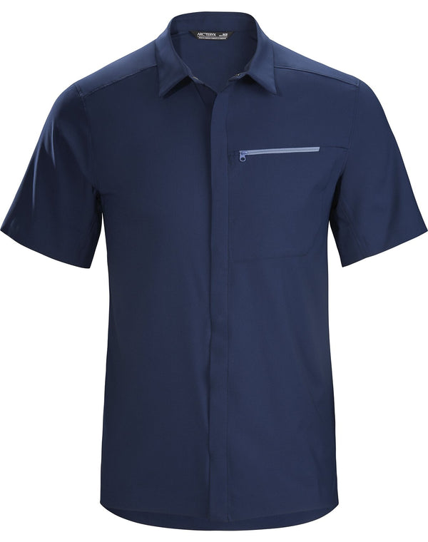 Arc'teryx Men's Skyline SS Shirt in Cobalt Moon