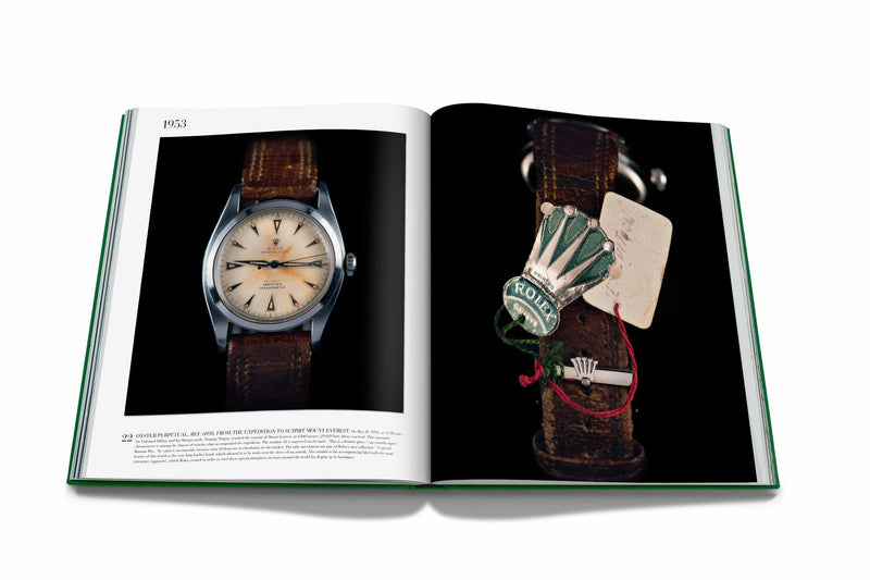 ASSOULINE Rolex: The Impossible Collection Hardcover Book by Fabienne Reybaud