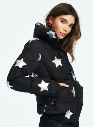 SAM. Star Freestyle Jacket in Black/Silver