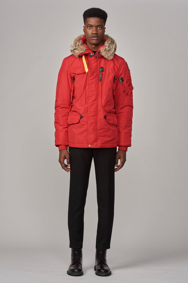 Parajumpers Men's Right Hand Jacket in Scarlet