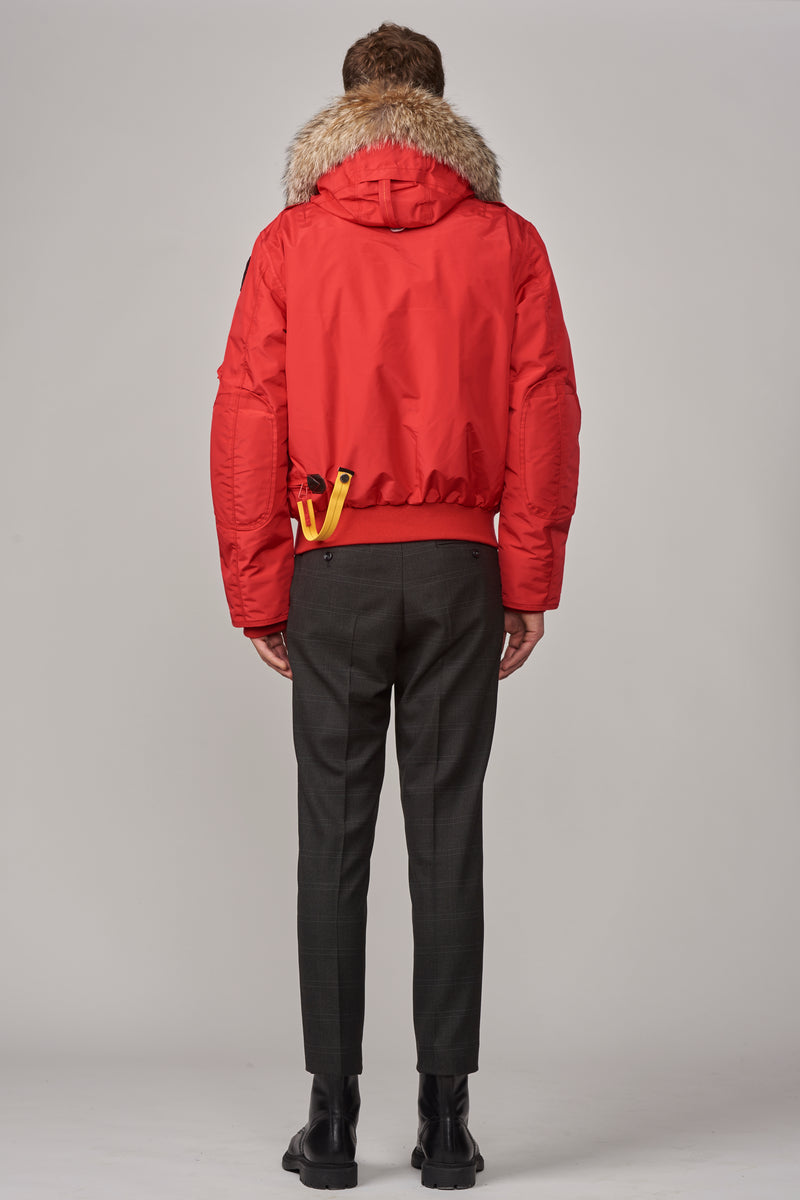 Parajumpers Men's Gobi Bomber in Scarlet