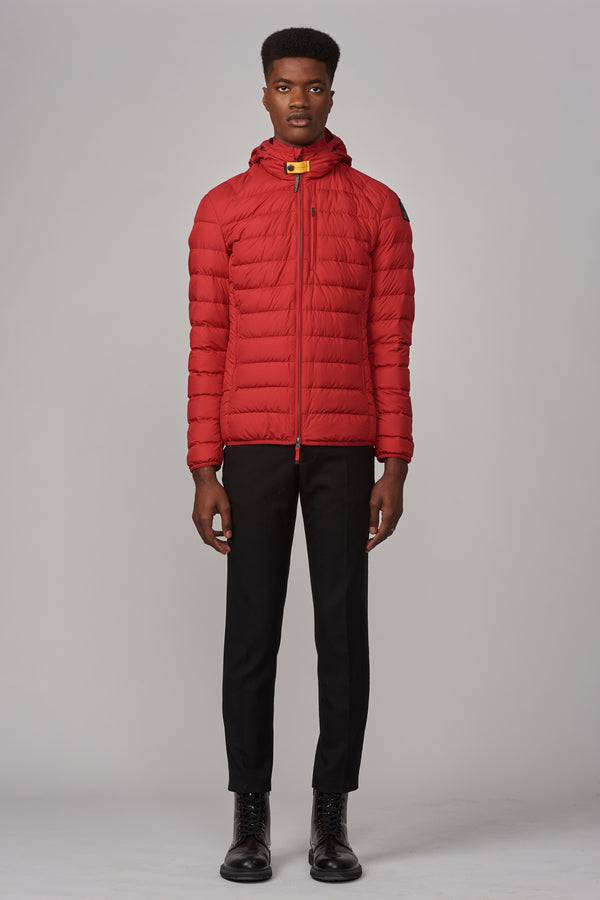 Parajumpers Men's Last Minute Jacket in Scarlet