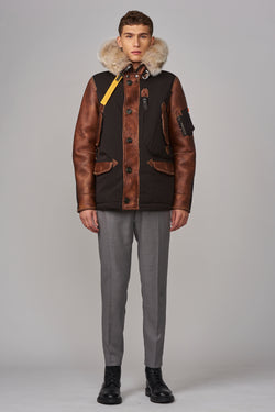 Parajumpers Men's Forrest Jacket in Raven