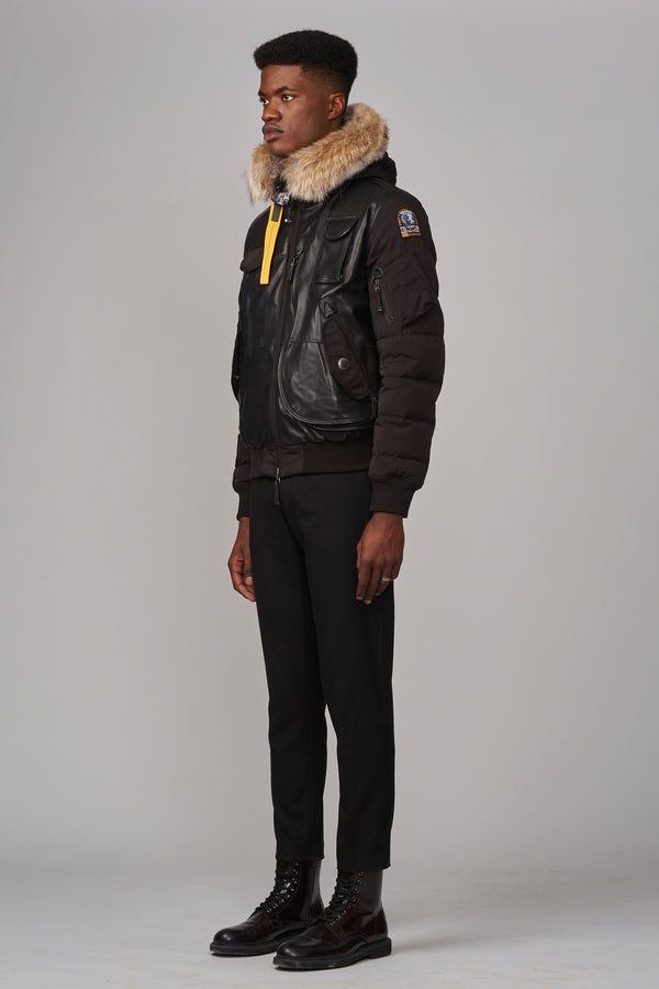 Parajumpers Men's Grizzly Bomber in Raven