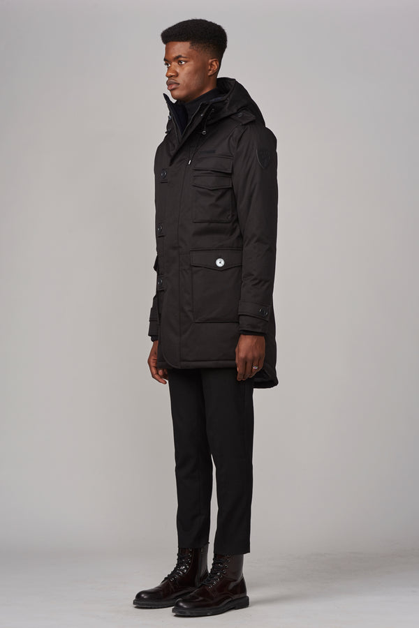 Nobis Men's Shelby Parka in Black