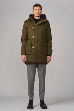 Nobis Men's Shelby Parka in Fatigue