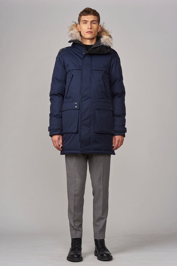 Nobis Men's Yatesy Parka in Navy