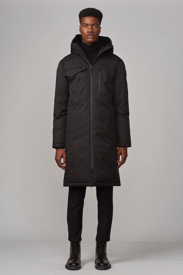 Nobis Men's Kane Utility Parka in Black