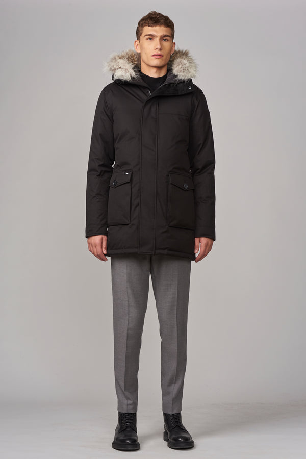 Nobis Men's Yves Parka in Black