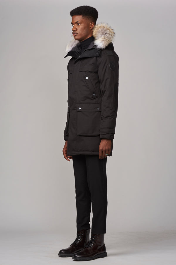 Nobis Men's Yatesy Parka in Black