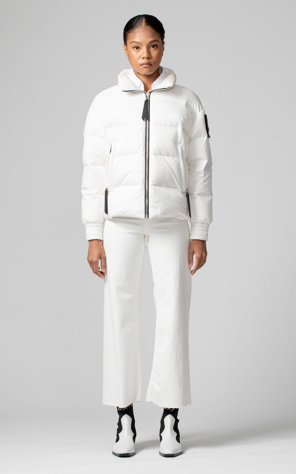 Moose Knuckles Women's Lumsden Jacket in White