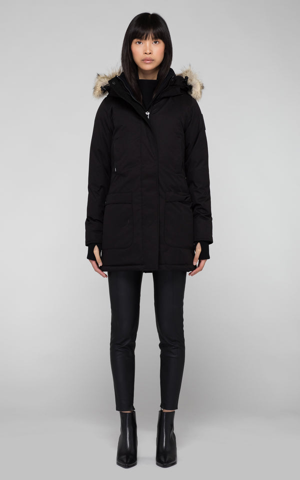 Nobis Ladies Carla Parka in Black