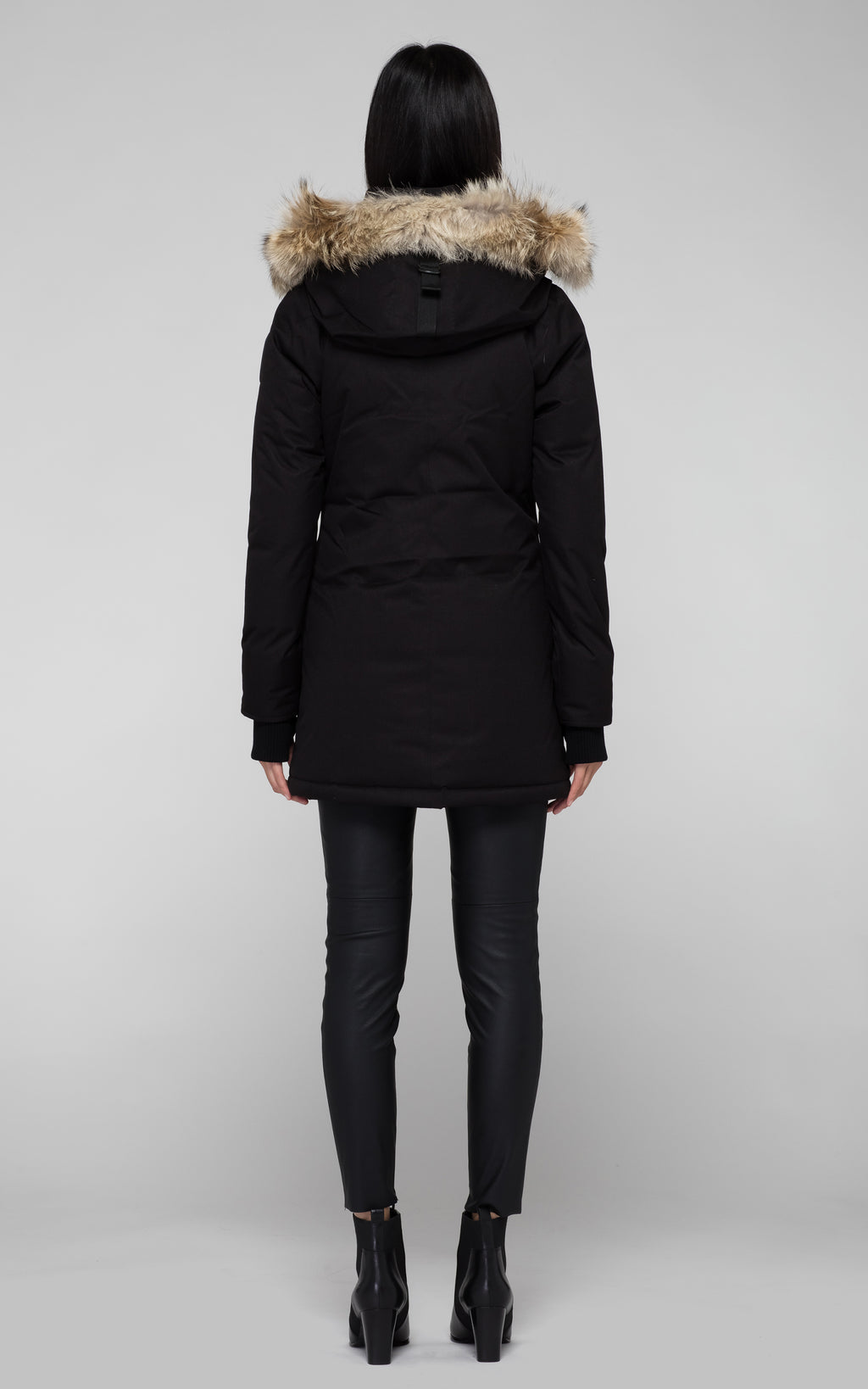 Nobis Carla Parka in Black