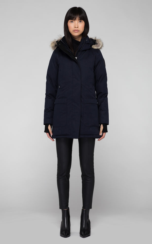 Nobis Ladies Carla Parka in Navy
