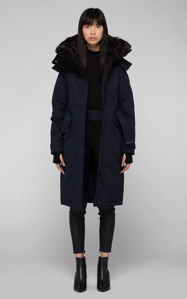 Nobis Ladies She-Ra Parka in Navy