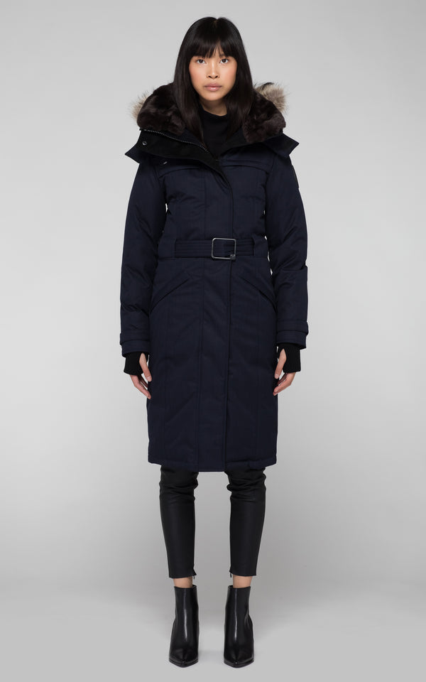 Nobis Women's She-Ra Parka in Navy
