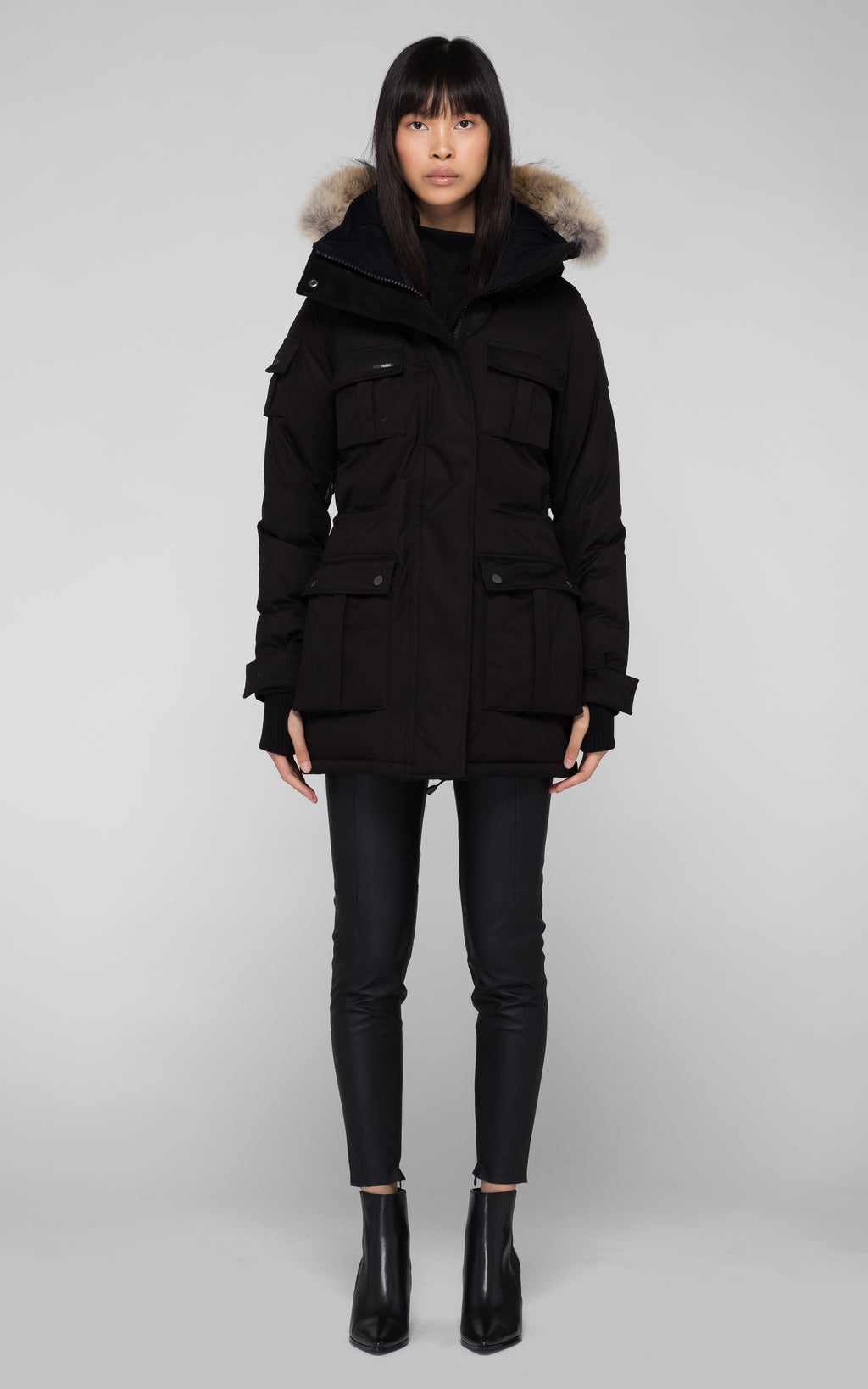 Nobis Cindy Parka in Black