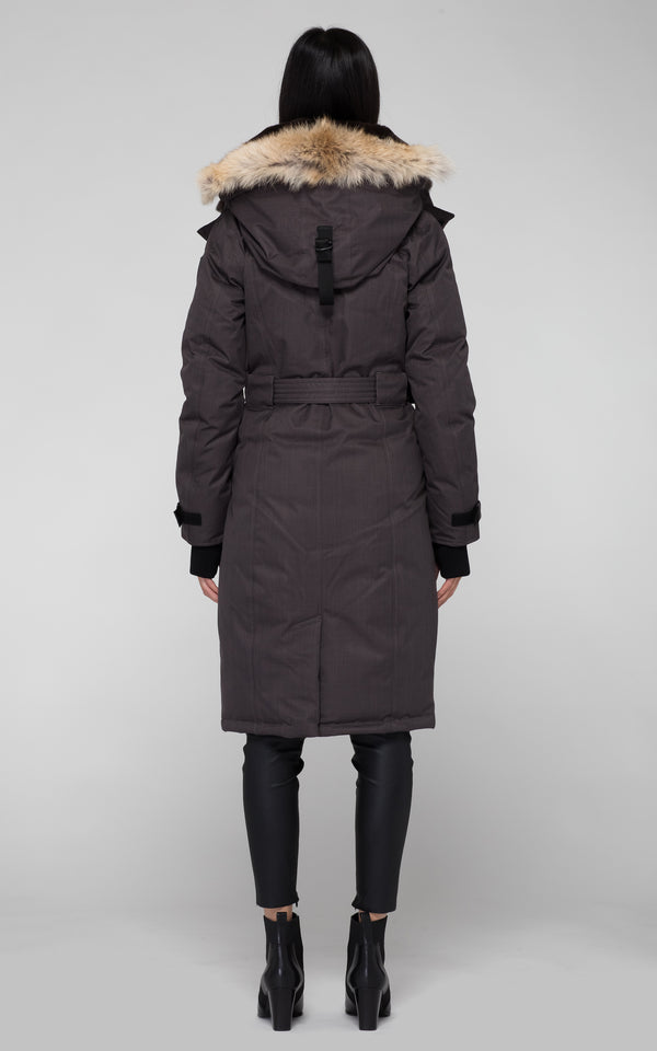 Nobis Women's She-Ra Parka in Steel Grey