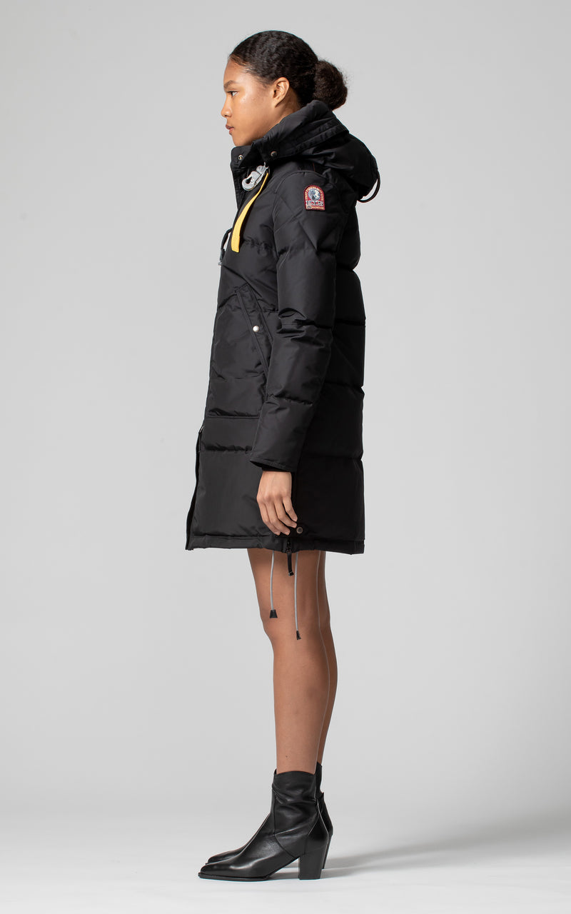 Parajumpers Women's Long Bear Base Parka in Black