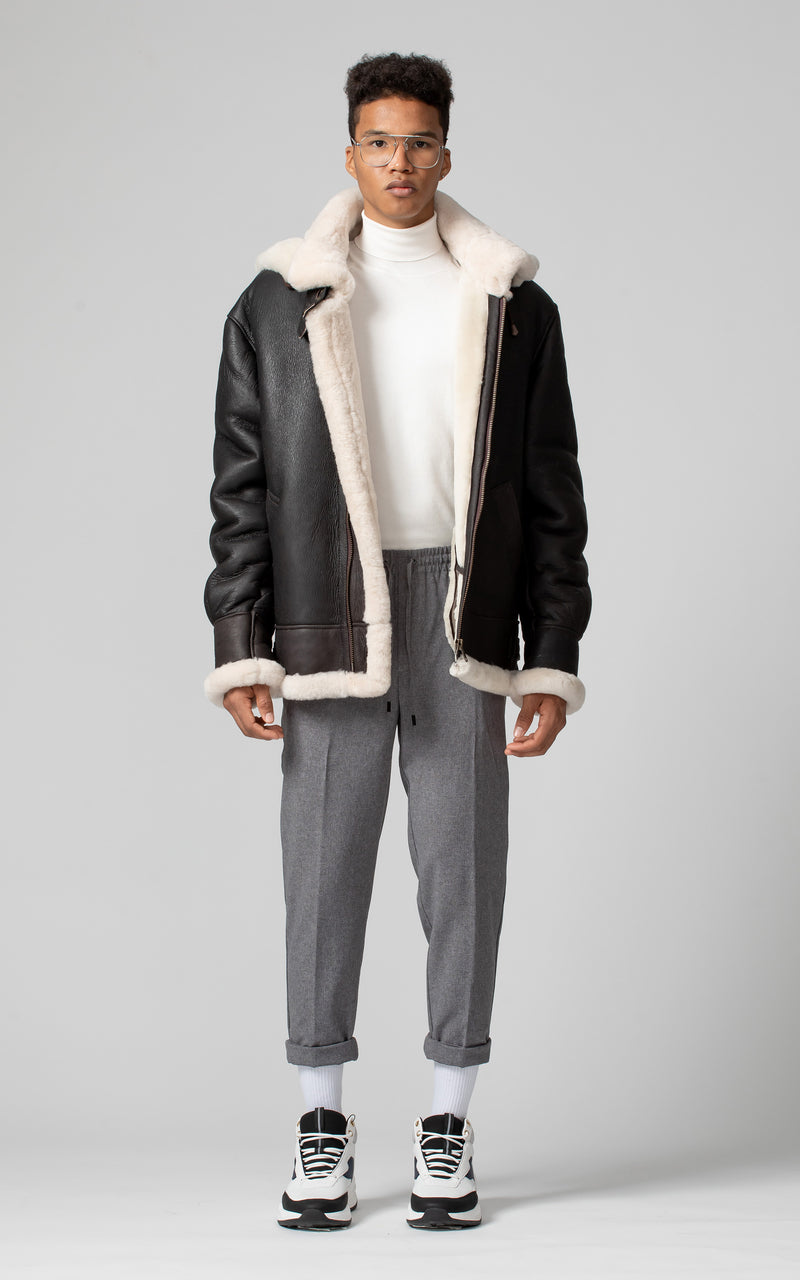 TAG Shearling B-3 Bomber Jacket