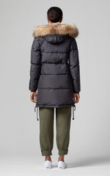 Parajumpers Women's Long Bear Parka in Phantom