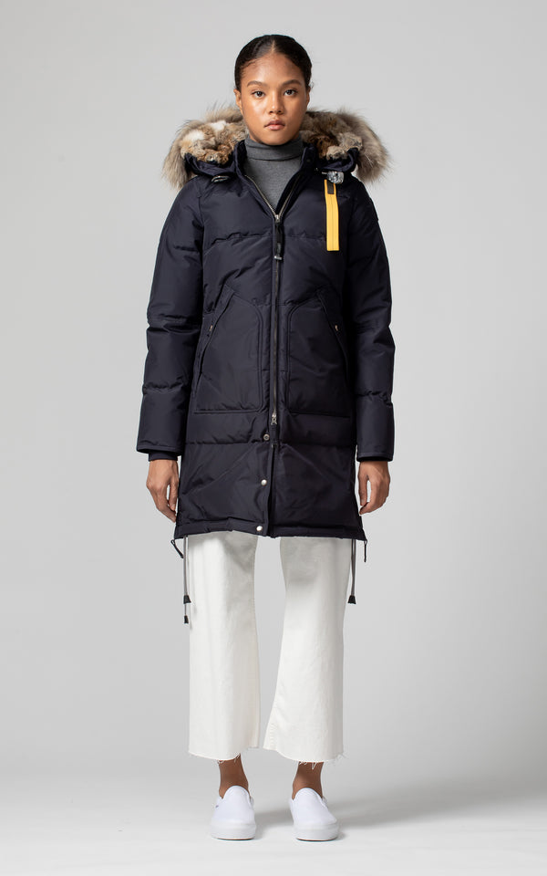 Parajumpers Women's Long Bear Parka in Navy