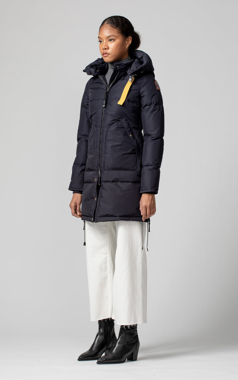 Parajumpers Women's Long Bear Base Parka in Navy