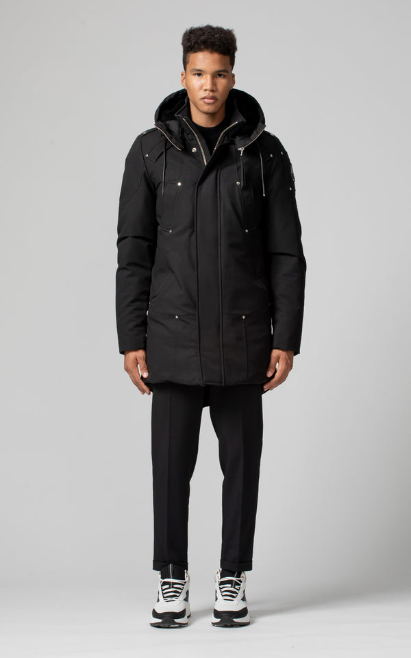 Moose Knuckles Men's Saint Ulric Parka in Black
