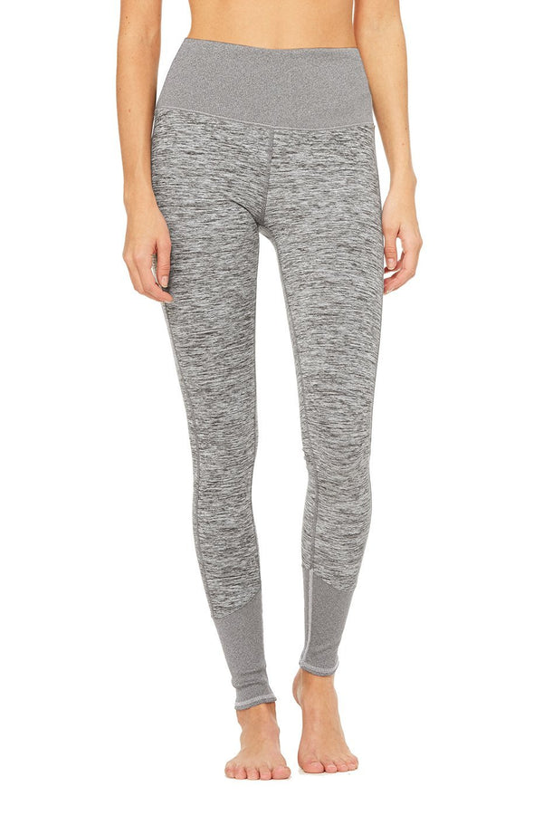 Alo Yoga High-Waist Alosoft Lounge Legging | Dove Grey Heather
