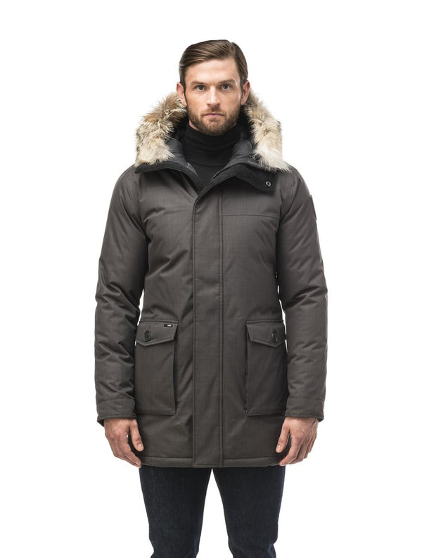 Nobis Men's Yves Parka in Steel Grey