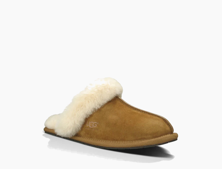 UGG Women's Scuffette II House Slippers in Chestnut