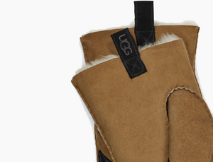 UGG Men's Shearling 3PT Glove in Chestnut