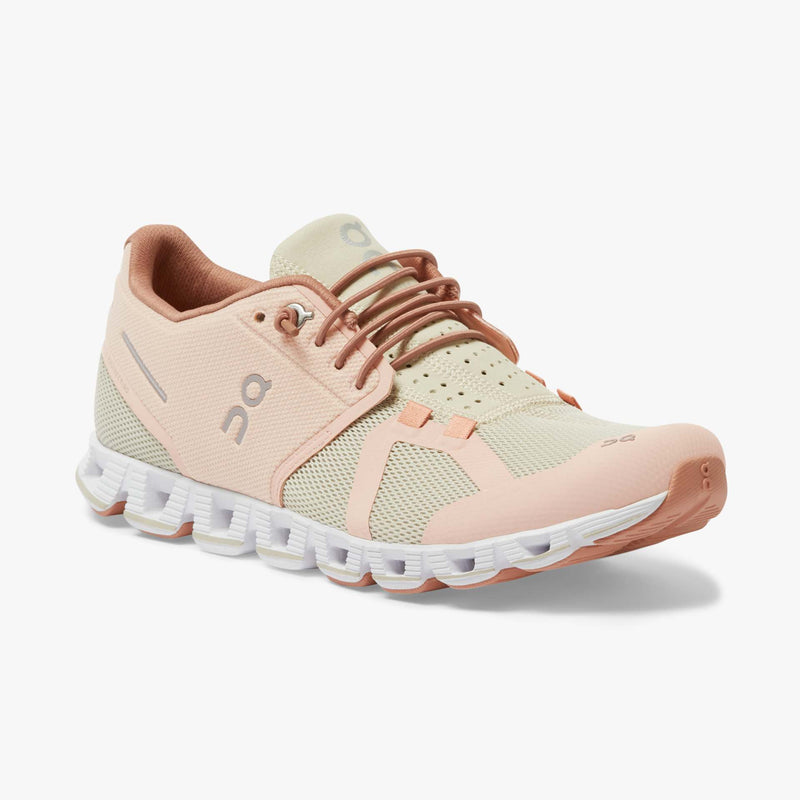 ON | Women's Cloud in Rose/Sand