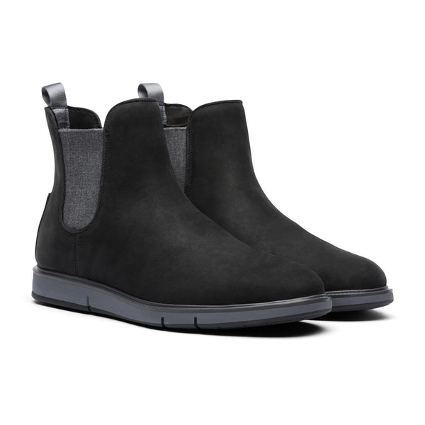 Swims Men's Motion Chelsea Boot in Black/Gray