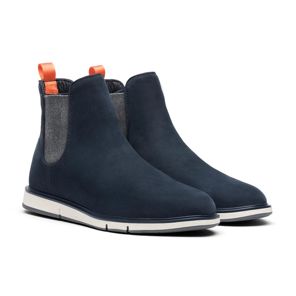 Swims Men's Motion Chelsea Boot in Navy/Gray