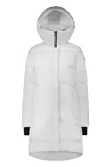 Moose Knuckles Ladies Stardew Puffer in White
