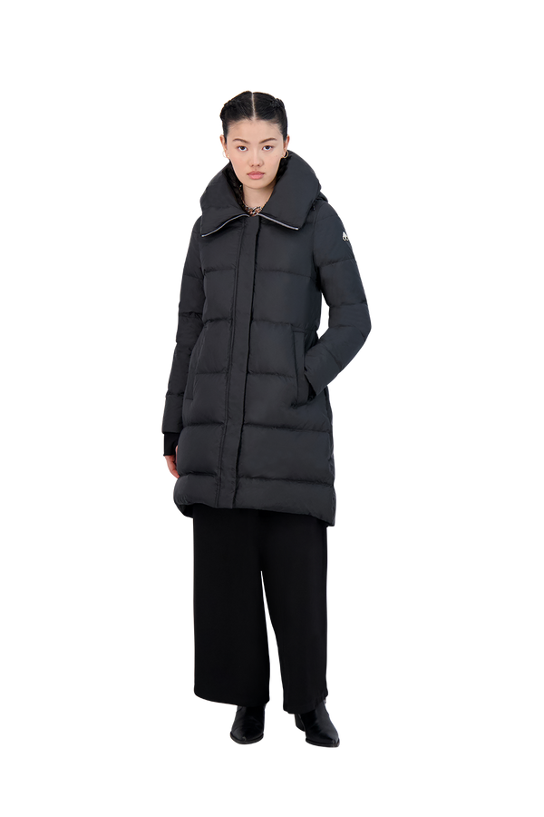 Moose Knuckles Ladies Stardew Puffer in Black