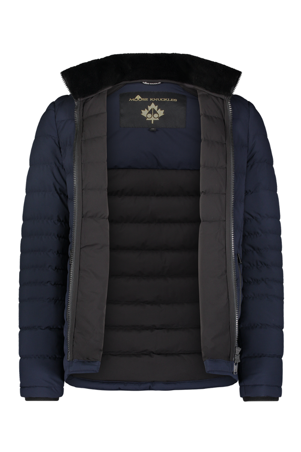 Moose Knuckles Men's Silverthorn Jacket in Night Sky