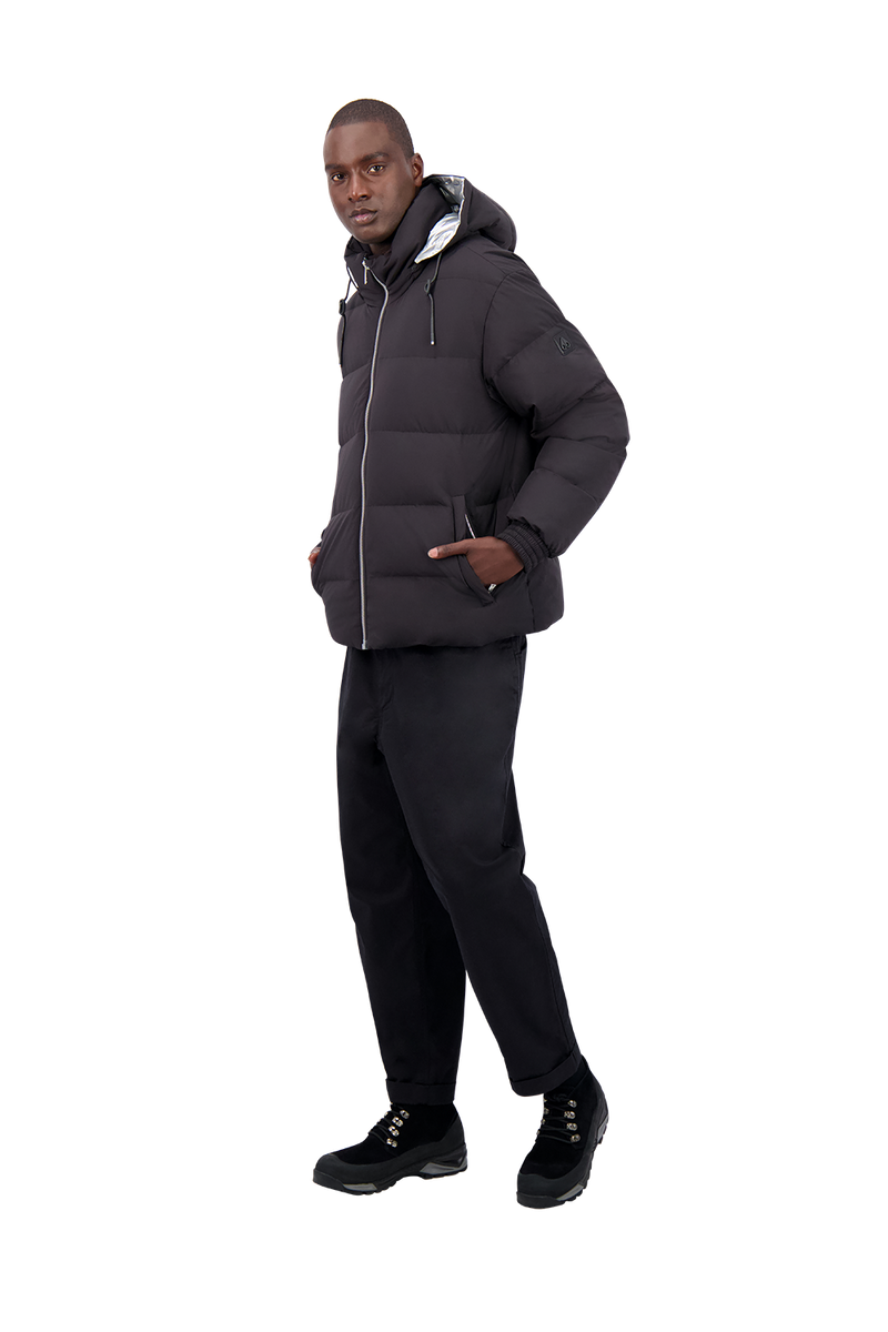 Moose Knuckles Men's Allen Puffer in Black